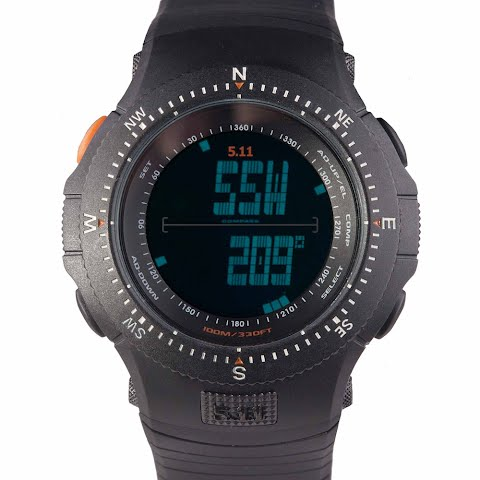 Product image of 5 . 11 Tactical Fields Ops Watch - Black