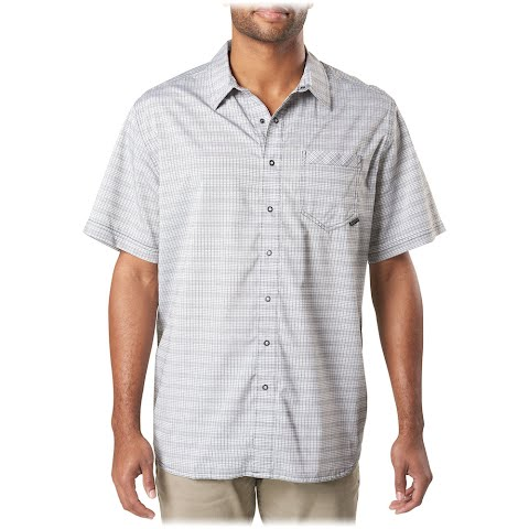 Image of 5 . 11 Tactical Intrepid Short Sleeve Shirt - Volcanic