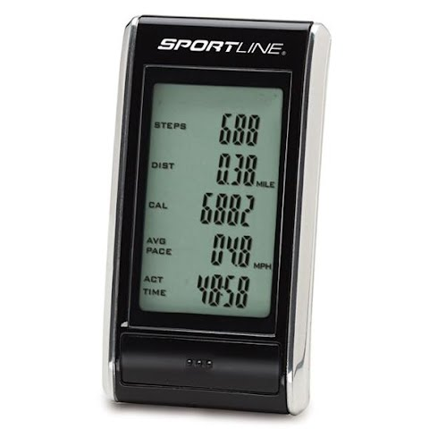 Product image of Sportline 308 Snapshot Pedometer - Black