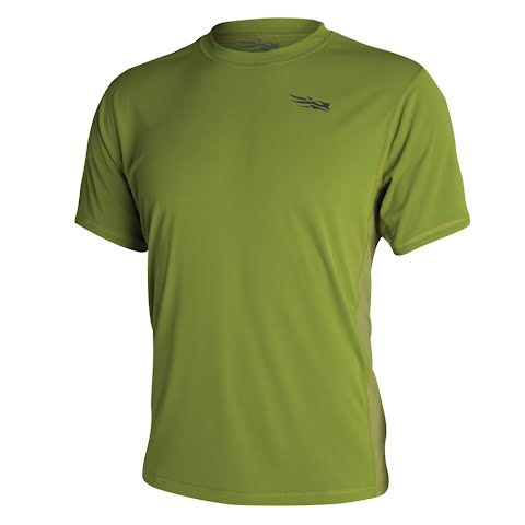 Sitka Gear Men ' S Redline Performance Shirt Short Sleeve – Lichen