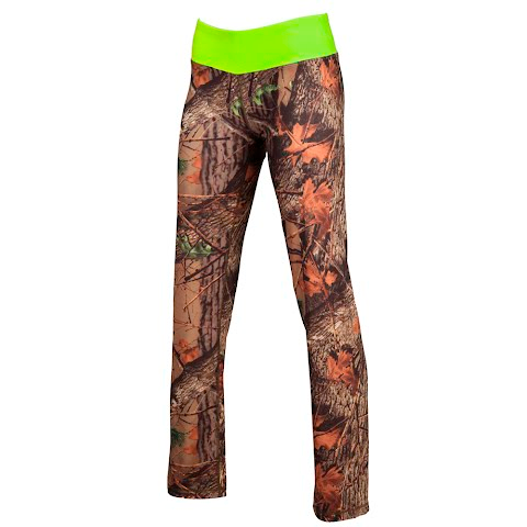 Trail Crest Women ' S Impulse 4 – Way Stretch Leggings – Camo Green