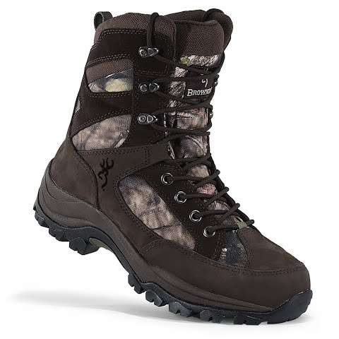 Browning Men ' S Insulated Buck Pursuit Hunting Boot , 400g – Realtree Extra