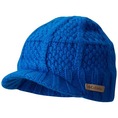 Product image of Columbia Youth Adventure Ride Visor Beanie - Super Blue