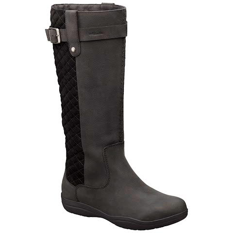 Product image of Columbia Women ' S Lisa Waterproof Leather Tall Boot - Black / Quarry