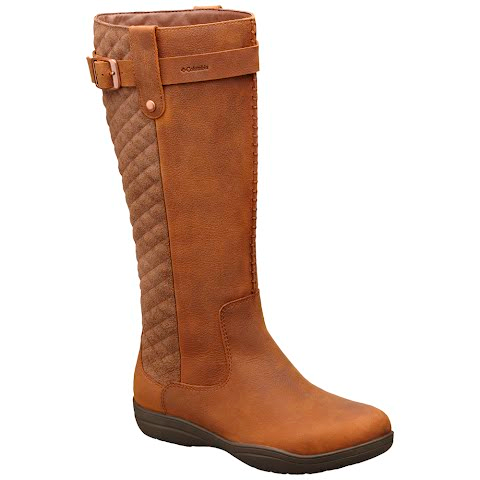 Product image of Columbia Women ' S Lisa Waterproof Leather Tall Boot - Tobacco / Cordovan