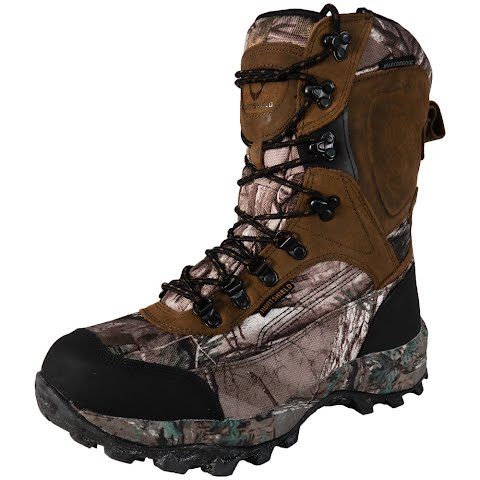 Huntshield Men ' S Tracker 800g Insulated Hunting Boot – Camo