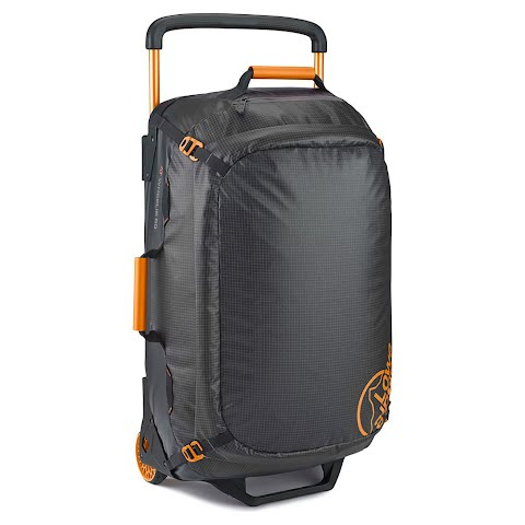 Image of Lowe Alpine At Wheelie 60l Wheeled Duffle - Anthracite