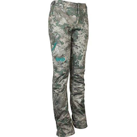 Girls With Guns Women ' S Artemis 3 Layer Softshell Pant – Shade Camo