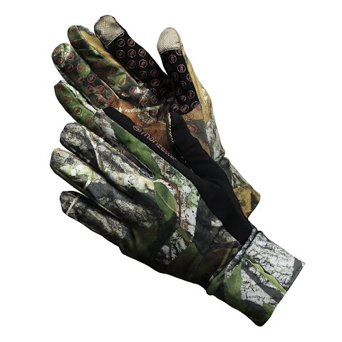 Manzella Men ' S Snake Touch – Tip Camo Glove – Mossy Oak Obsession
