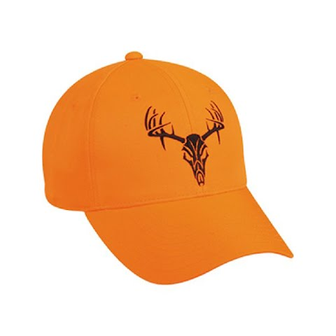 Outdoor Cap Men ' S Buck Skull Blaze Cap – Blaze