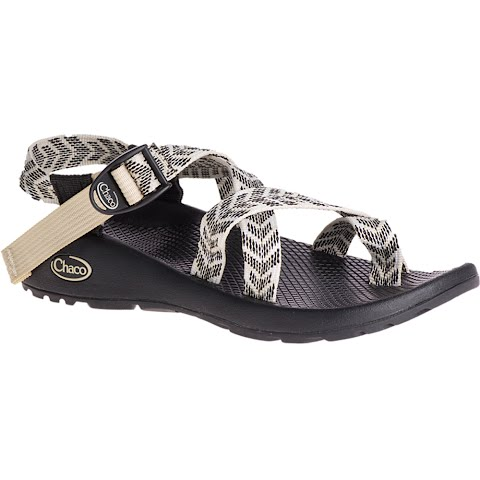 Image of Chaco Women ' S Z / 2 Classic Sandal - Trine Black And White