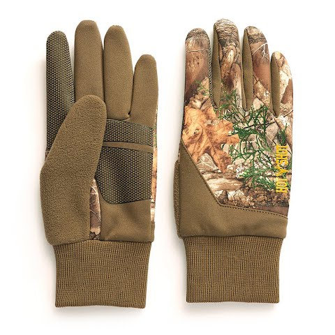 Hot Shot Eagle Stretch Fleece Glove With Touchscreen Capability – Realtree Edge