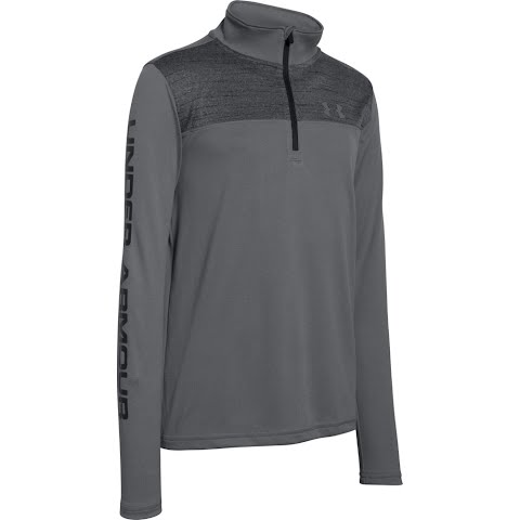 Product image of Under Armour Boy ' S Youth Tech 1 / 4 Zip - Graphite