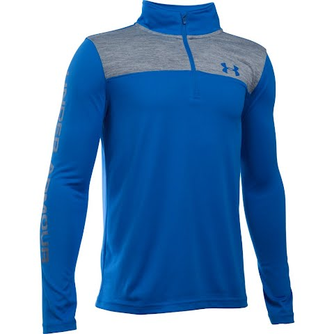 Product image of Under Armour Boy ' S Youth Tech 1 / 4 Zip - Ultra Blue Graphite