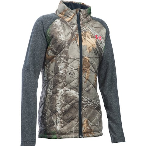 Under Armour Youth Girl ' S Artemis Hybrid Hunting Jacket – Realtree Ap Xtra
