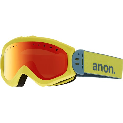 Product image of Anon Women's Majestic Goggle - Lemon Drop / Red Solex