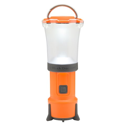 Product image of Black Diamond Orbit Lantern - Vibrant Orange