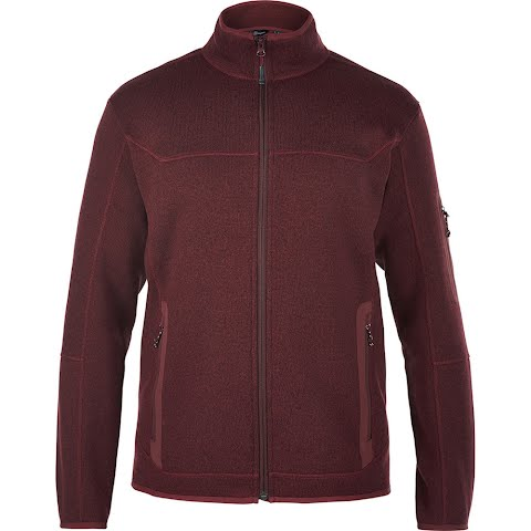 Berghaus Men ' S Tulach Fleece Jacket - Tawny Port