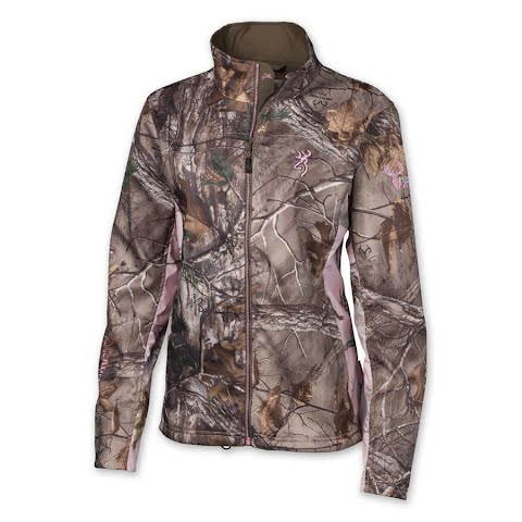 Browning Women's Hell's Belles Ultra - Lite Jacket - Realtree Xtra / Realtree Pink thumbnail