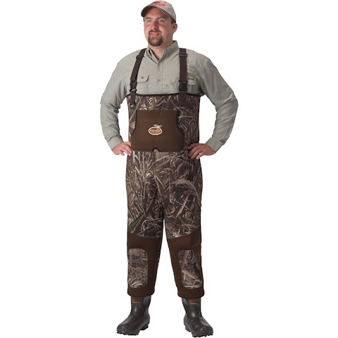Caddis Wading Systems Men ' S Max - 5 Neoprene Bootfoot Waders With 600 Gram Boots - Regular / Stout