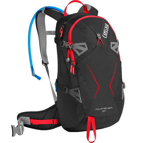 Product image of Camelbak Fourteener 20 Hydration Pack - Black / Fiery Red