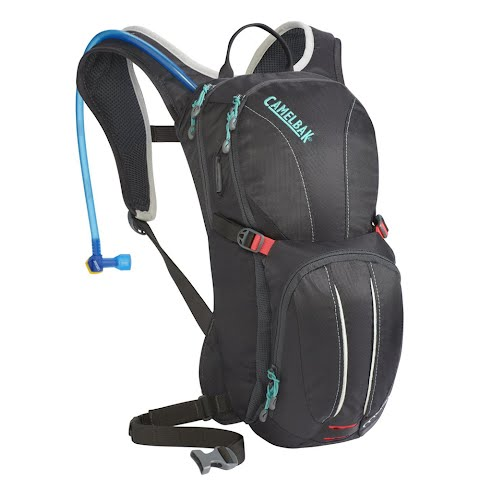 Product image of Camelbak Women's Magic 70oz Hydration Pack - Charcoal / Fiery Coral