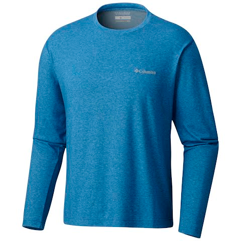 Product image of Columbia Men ' S Thistletown Park Long Sleeve Shirt - Super Blue Heather