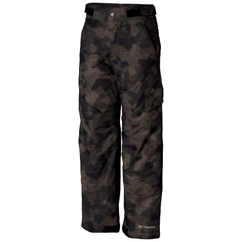 Columbia Boy ' S Youth Toddler Ice Slope Ii Pant – Black Camo Lines