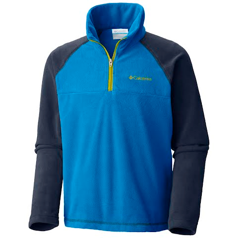 Product image of Columbia Boy ' S Youth Glacial Half Zip - Peninsula / Collegiate Navy