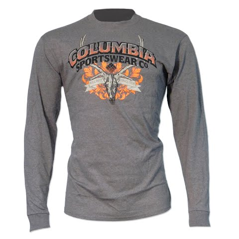 Product image of Columbia Men ' S Phg Rack Elk Long Sleeve Tee - Major Heather