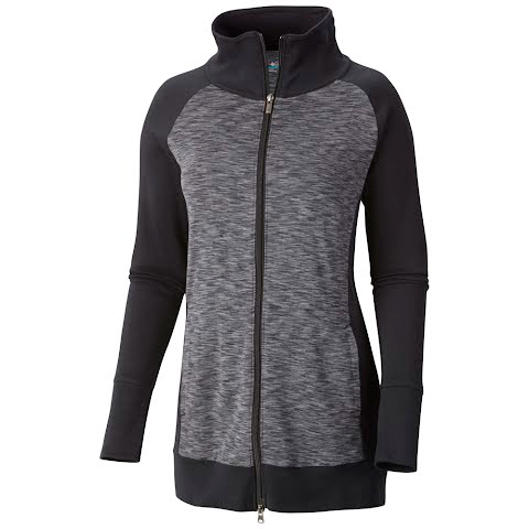 Product image of Columbia Women ' S Outerspaced Hybrid Long Full Zip Jacket - Black