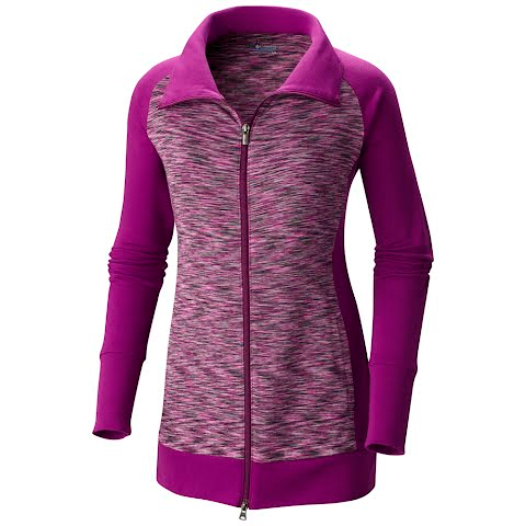 Product image of Columbia Women ' S Outerspaced Hybrid Long Full Zip Jacket - Plum