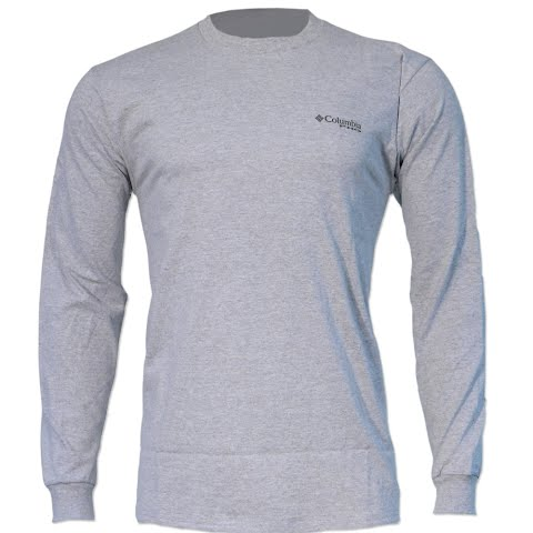 Product image of Columbia Men ' S Phg Live The Hunt Long Sleeve Tee - Grey Heather