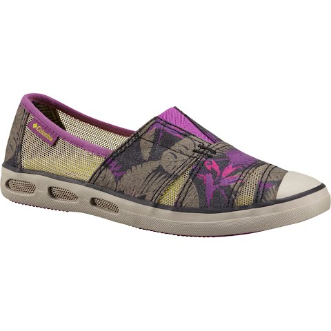 Product image of Columbia Women ' S Vulc N Vent Slip - On Print Shoes - Razzle / Zour