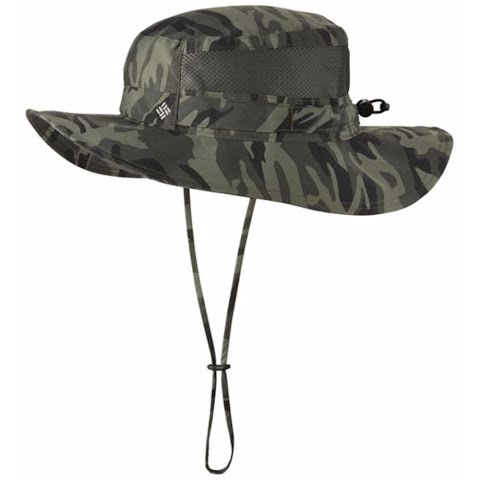 Product image of Columbia Bora Bora Print Booney Hat - Gravel Camo