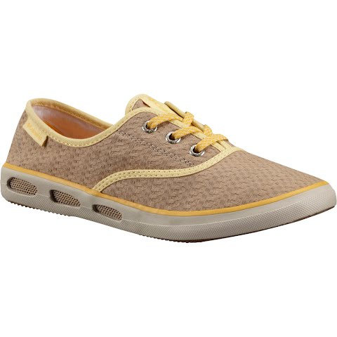 Product image of Columbia Women ' S Vulc N Vent Lace Canvas Ii Shoes - British Tan / Stinger