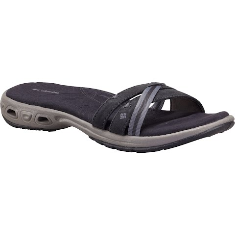 Columbia Women's Inagua Vent Slide Sandals - Shark / Light Grey