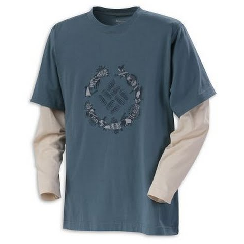 Product image of Columbia Youth Boy ' S Weasel Cove Crew Tee - Tidewater