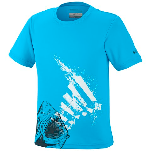 Product image of Columbia Youth Boy ' S Adventureland Ii Graphic Tee - Riptide