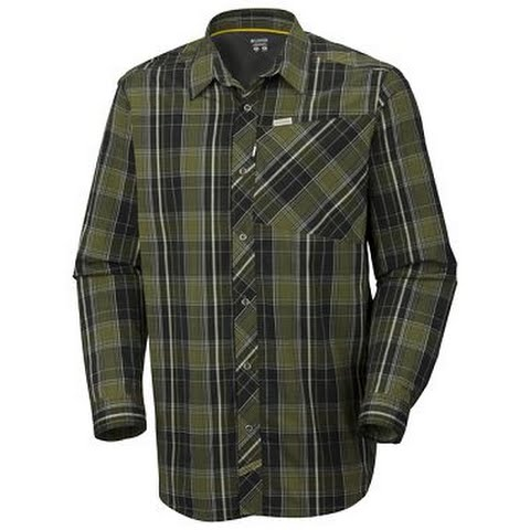 Product image of Columbia Men ' S Leadout Long Sleeve Shirt - Cilantro