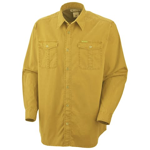 Product image of Columbia Men ' S Saddle Peak Long Sleeve Shirt - Pilsner