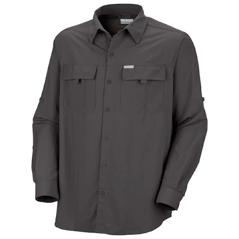 Product image of Columbia Mens Silver Ridge Long Sleeve Shirt - Blade