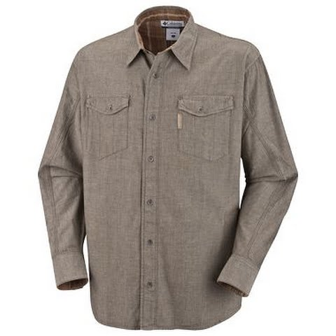 Product image of Columbia Mens Three Capes L / S Shirt - Olive Green