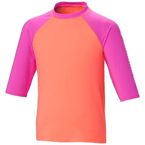 Product image of Columbia Youth Mini Breaker Ii Short Sleeve Sunguard - Coral Glow
