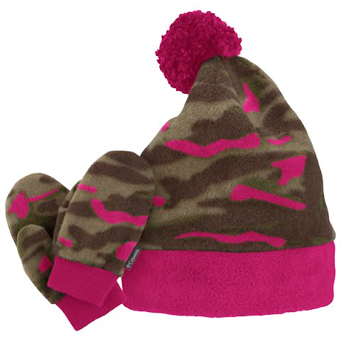 Product image of Columbia Youth Infant Frosty Fleece Set - Surplus / Very Pink