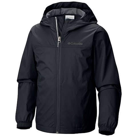 Columbia Boys Youth Glennaker Rain Jacket - Black