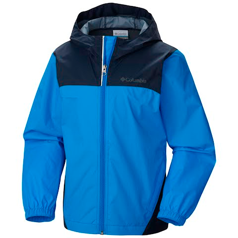 Columbia Boys Youth Glennaker Rain Jacket - Hyper Blue