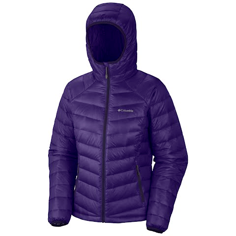 Columbia Women's Platinum 860 Turbodown Hooded Jacket - Hype
