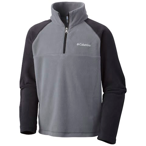 Product image of Columbia Boy's Youth Glacial Half Zip - Graphite