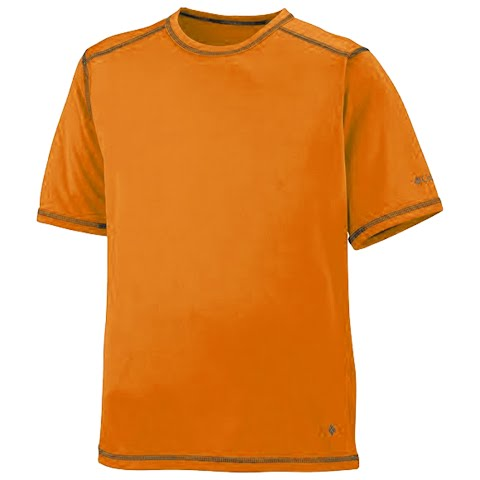 Product image of Columbia Youth Boy ' S Silver Ridge Tee - Heatwave